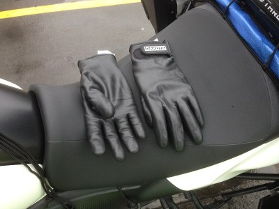 New gloves!  hopefully water proof.