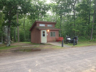 Cabin at McLain state park