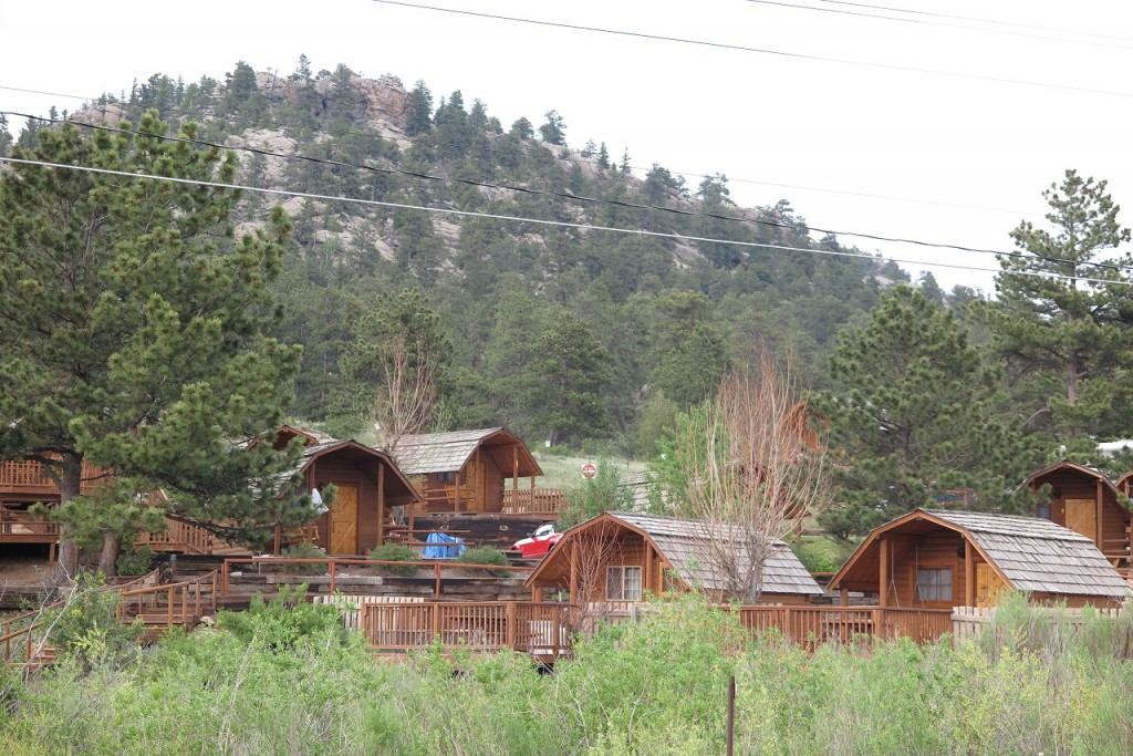 view of the KOA from the road.