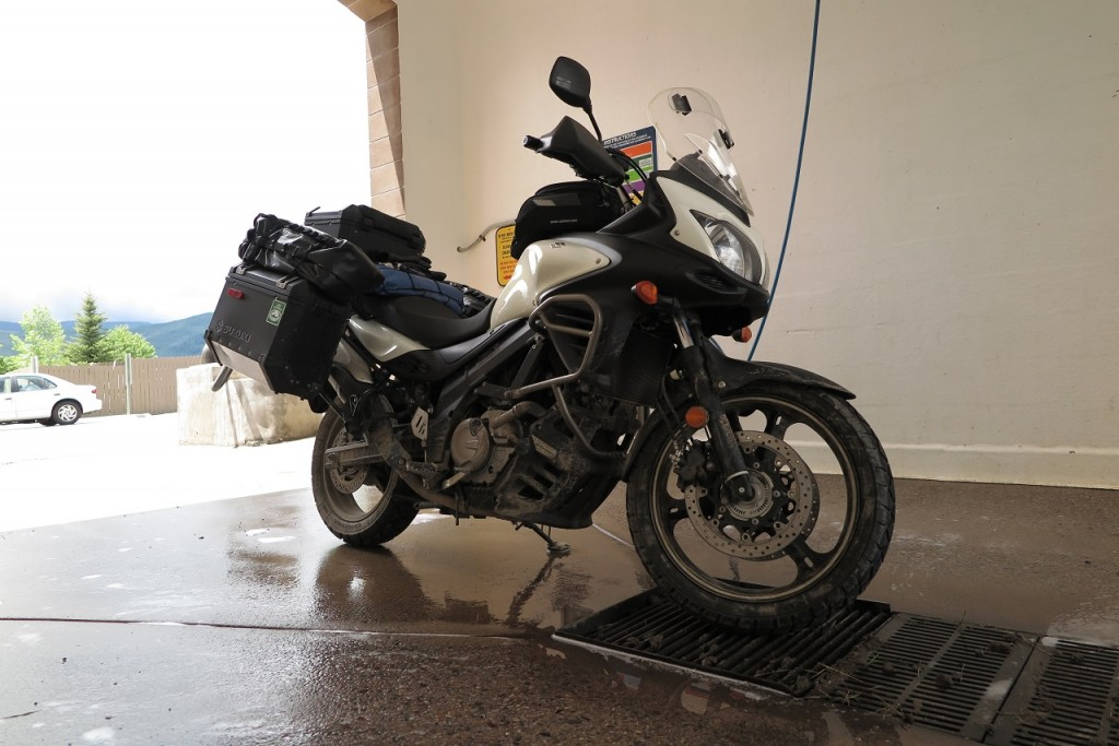 Time to wash the bike