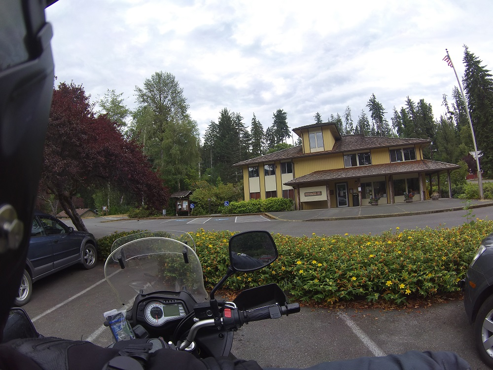One of the Visitor Centers in Olympic Forest national park.